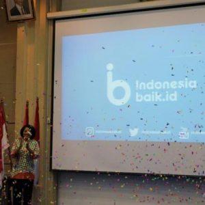 MENKOMINFO LUNCURKAN SITUS indonesiabaik.id