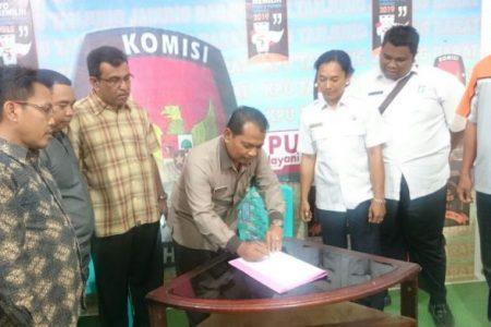Kominfo dan KPU Tandatangani MoU Kerjasama di Bidang Telekomunikasi