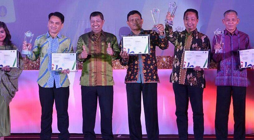 Diskominfo Tanjabbar Raih Terbaik 3 Pelayanan Informasi Melalui Internet (website)
