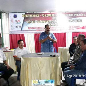 Pemerintah Kabupaten Tanjab Barat Adakan Pertandingan domino